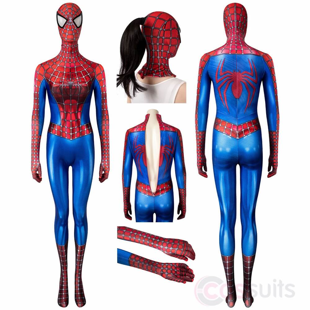 tobey maguire spider man suit